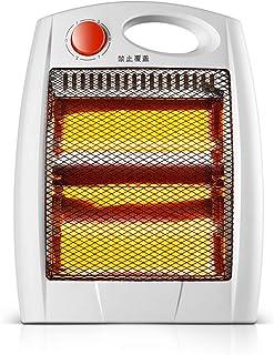 Radiador eléctrico Calentador de Tubo de Cuarzo doméstico de 700W Blanco.