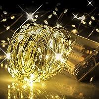 JTBHBTL 33 Ft 100-LED Battery Powered Fairy String Lights