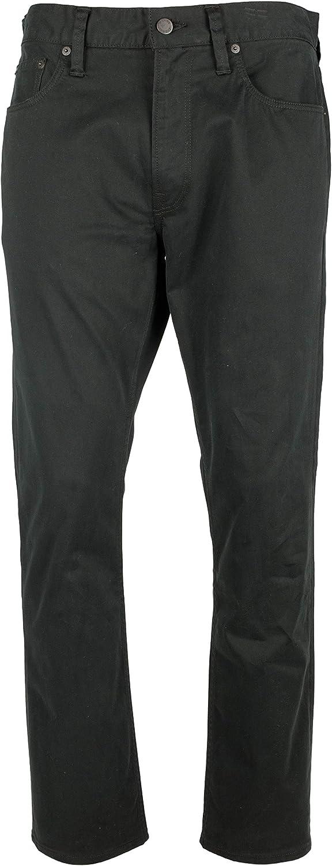 Polo Ralph Lauren Mens Sateen Five-Pocket Straight Leg Jeans