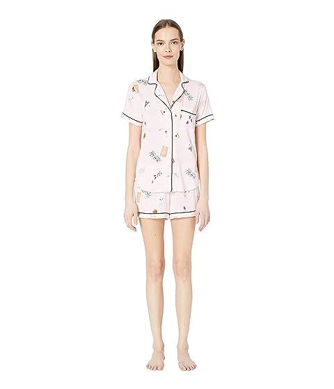 Kate Spade New York Jersey Knit Short Pajama Set