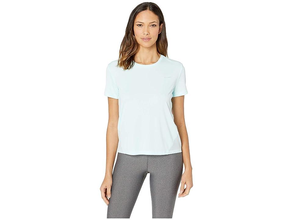 Nike Miler Top Short Sleeve (Teal Tint/Reflective Silver) Women