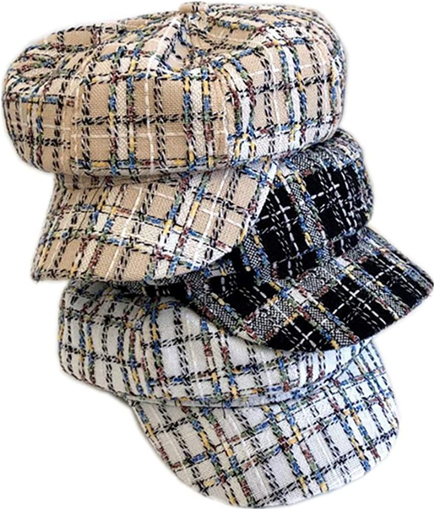 UU BEN Newsboy Hats for Women Max 60% OFF Beret Style Cheap Cabbie Paperboy French