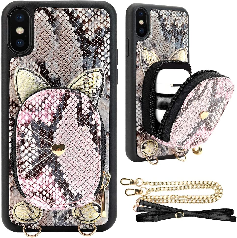 iPhone Xs Max Surprise price Wallet Sale SALE% OFF Case. with JLFCH Zipper Case
