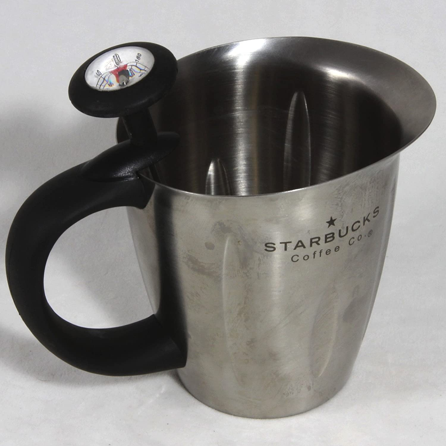 Classic Starbucks Coffee Stainless Steel Pitcher with Milk Challenge the Opening large release sale lowest price Froth