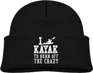 ADGoods Kids Children I Kayak to Burn Off The Crazy Beanie Hat Knitted Beanie Knit Beanie For Boys Girls Gorra de béisbol ...
