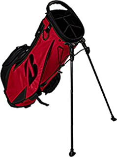Bridgestone Lightweight Stand Bag Red - 2019