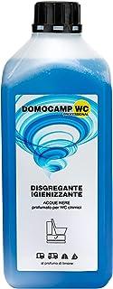 Domocamp - Líquido desintegrante Domocamp WC para sanitarios portátiles, inodoros químicos, depósitos de aguas negras, Aqu...