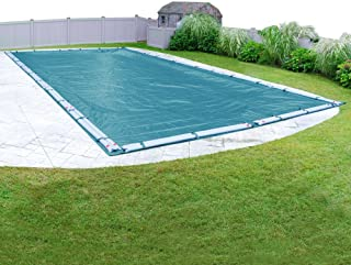 Pool Mate 581428R Guardian Winter In-Ground Pool Cover, 14 x 28-ft, Teal Blue