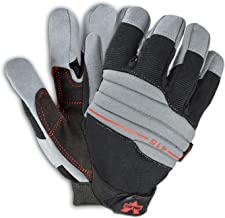 Valeo V415 Vibration Reducing Work Gloves for Machine Operating, Construction, Handyman, and DIY Featuring Vibration Reduc...