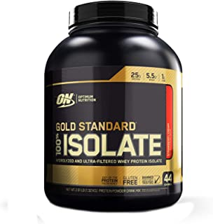 ゴールドスタンダード 100% アイソレート 1.32kg (Gold Standard 100% Isolate 2.91 lb) (ストロベリークリーム(Strawberry Cream))
