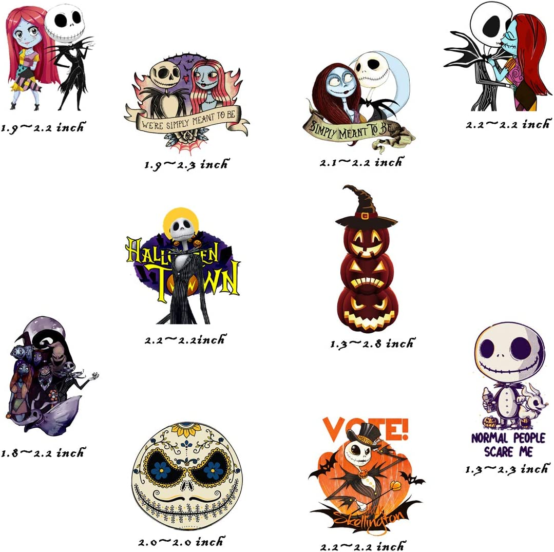 Nightmare Before Christmas Stickers  50 PCS  