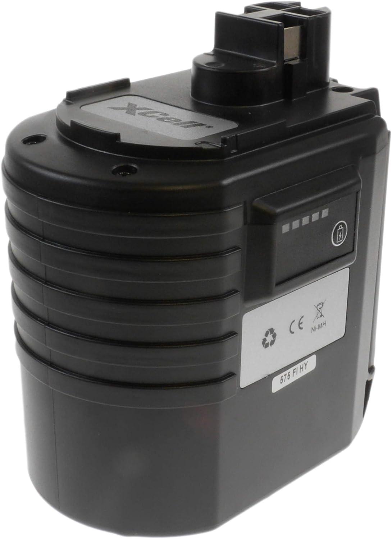 Hückmann XCell 118859 - Batería para herramientas Bosch (Ni-MH, 24 V, 3000 mAh)