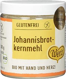 Werz Johannisbrotkernmehl glutenfrei, 1er Pack 1 x 100 g Dose - Bio