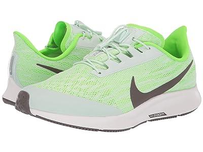 Nike Air Zoom Pegasus 36 FlyEase (Phantom/Ridgerock/Electric Green) Men