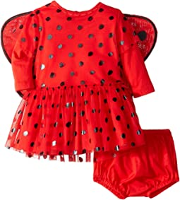 Mouse Polka Dot Detachable Wings One-Piece (Infant)