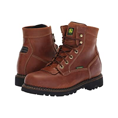 John Deere 6 Waterproof Logger (Chestnut) Men