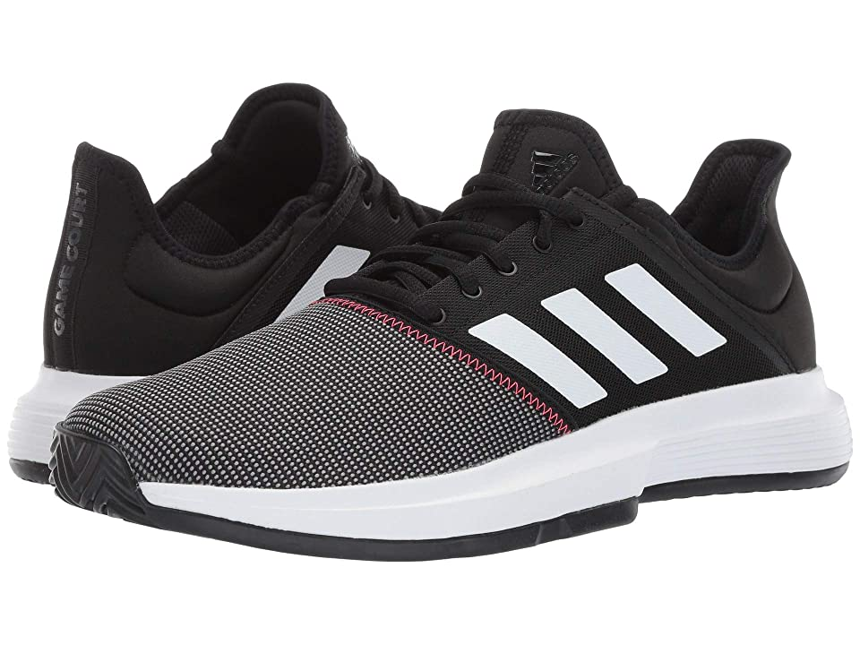 adidas GameCourt (Core Black/Footwear White/Shock Red) Men