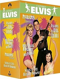 Paramount Coffret Elvis: Paradis Hawaïen + Bagarres au King Creole + Des filles, encore des filles! + Sous le ciel bleu d'Hawaii [Francia]