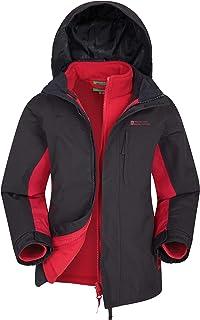 Mountain Warehouse Cannonball 3 in 1 Kids Rain Proof Jacket