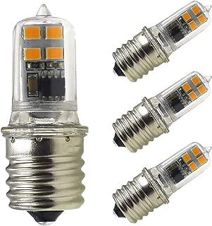 E17 LED Bulb Microwave Oven Light- Mechok,15W Replacement Halogen Bulb, 2W Dimmable AC 120V Light Bulbs,Warm White 3000K, 180 Lumens for Kitchen(4-Pack)