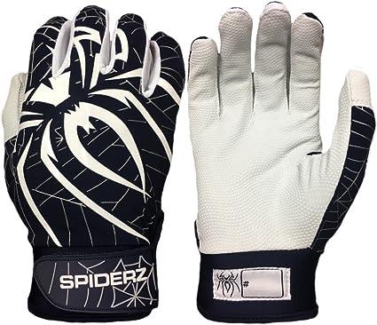 2019 Spiderz LITE Batting Gloves Black//Pink