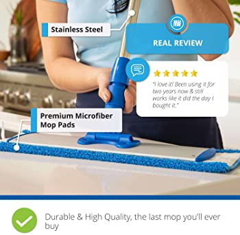 "18"" Professional Microfiber Mop 