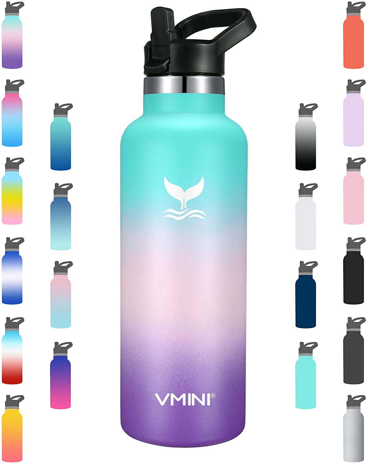 Vmini Water Max 77% OFF Bottle - Bargain sale Standard Mouth Ins Stainless Vacuum Steel