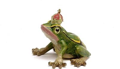 Frog King Vienna Bronze Figurine