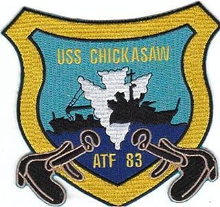 ATF-83 USS Chickasaw Patch
