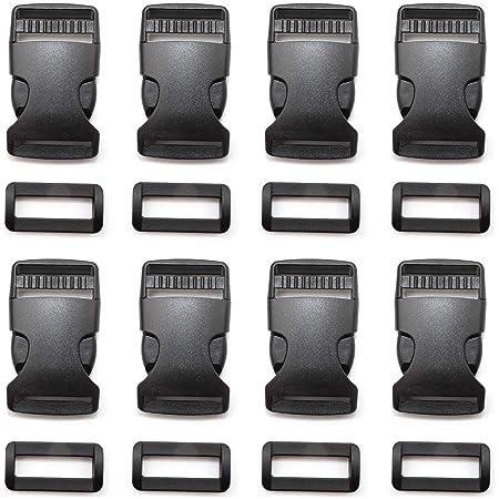 Side Release Buckle Clip Backpack Black Plastic UK
