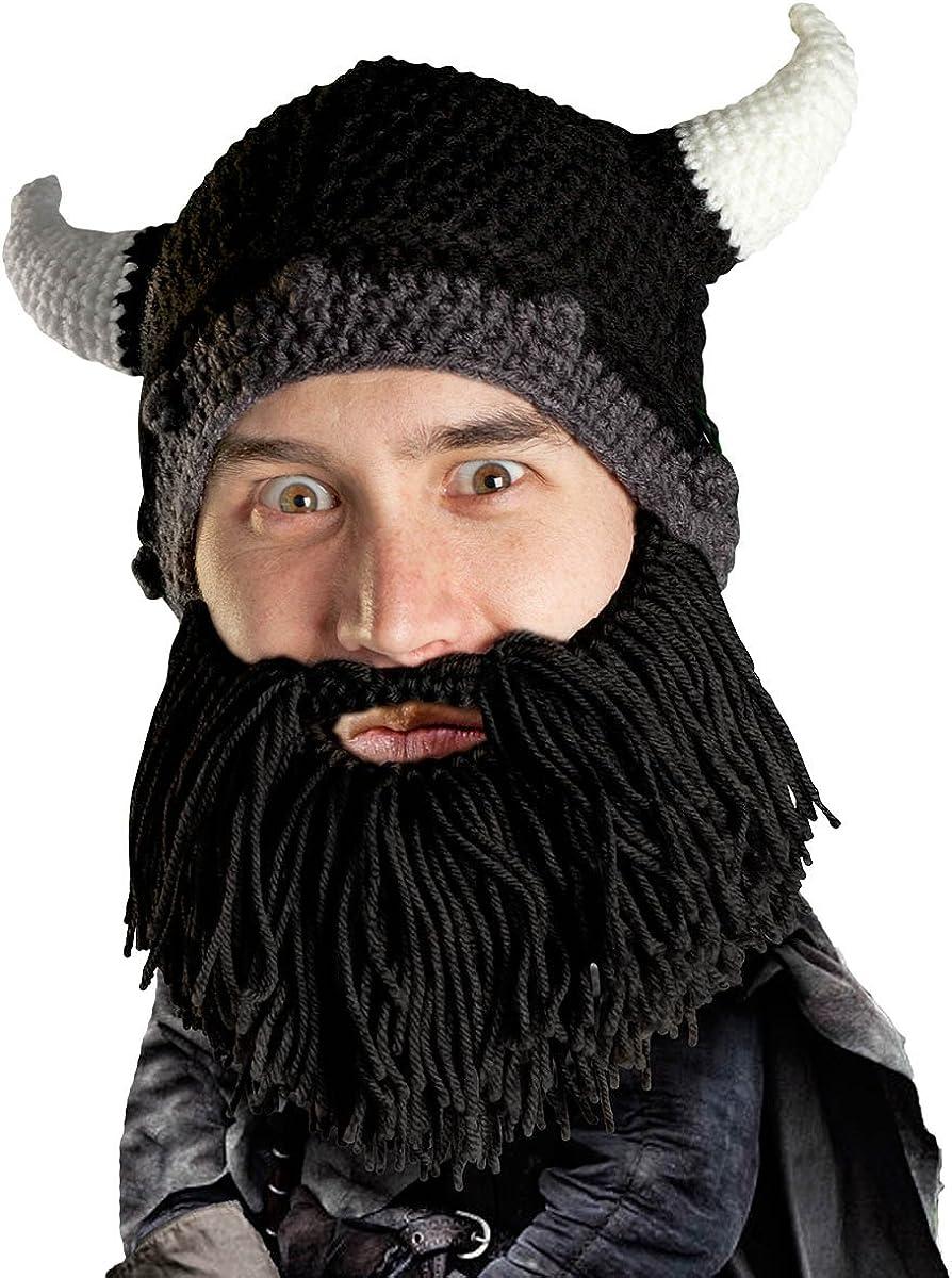 Beard Head Viking Looter - Original and Rem Limited Special shop Price Knit Helmet Handmade