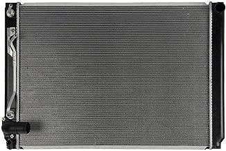 Prime Choice Auto Parts RK1049 New Complete Aluminum Radiator