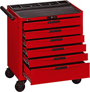 Teng Tools 6 Drawer Heavy Duty Roller Cabinet Tool Chest/Wagon - TCW806N