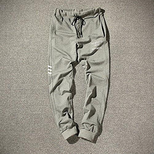 Dufjodi Pantalons pour Hommes en Hiver et l'hiver, Les Pantalons Longs Pantalons Collants Pantalon, Sports,gris,S