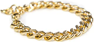 Gold Bracelets for Women - Chain Bracelet for Women Link Bracelet Gold Charm Bracelet Celeb-Approved