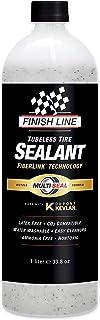 Finish Line TS0326601 Tubeless Tire Sealant, White, 1 Liter Bottle