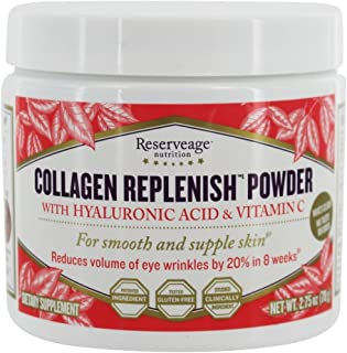 Collagen Replenish with Hyaluronic Acid & Vitamin C 2.75 Ounce Pwdr