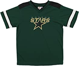 Mighty Mac Dallas Stars NHL Big Boys Youth Vintage Short Sleeve Jersey Shirt, Green