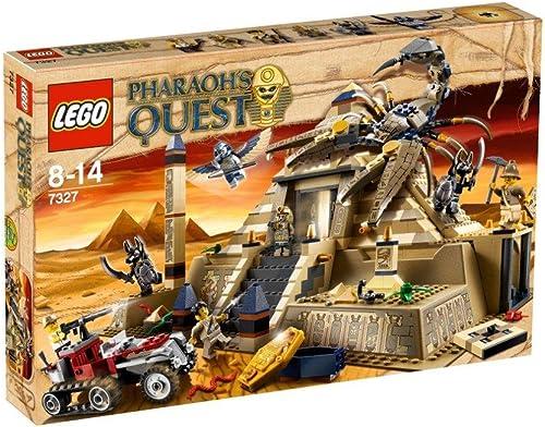 en venta en línea LEGO Pharaohs Quest 7327 - La pirámide de de de escorpión [versión en inglés]  diseño único