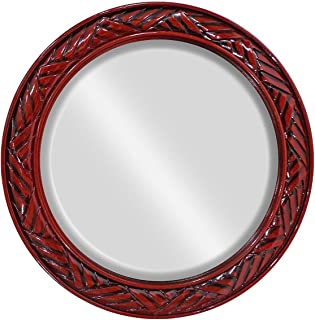Baal New Round Design Mirror For Bathroom Pack of 1