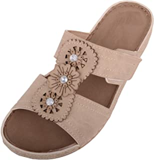 ABSOLUTE FOOTWEAR Womens Slip On Mule Style Summer/Holiday/Beach Sandals/Shoes