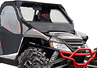 SuperATV Dark Tinted Half WIndshield Arctic Cat Wildcat 1000/1000 4 (2012-2017) - 250 Times Stronger Than Glass!