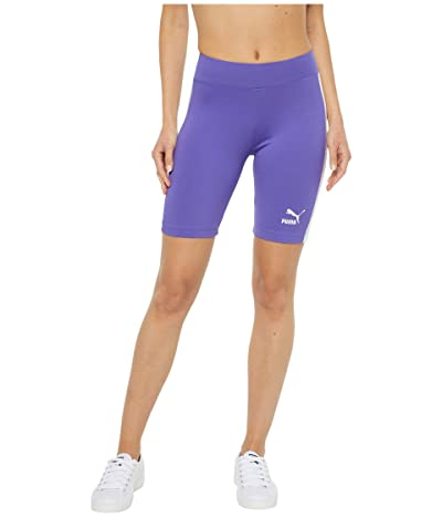 PUMA Classics Biker Shorts (Purple Corallites) Women