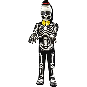 Maschera ZOMBIE CON CAPPUCCIO Tristo Mietitore scheletro teschio spaventoso fantasma Halloween Fancy Dress