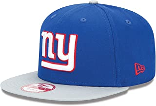 New Era Men's Snapback Baycik Royal Blue/Gray 9fifty Hat Cap NFL Giants