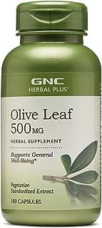 GNC Herbal Plus Olive Leaf 500 mg 100 caps