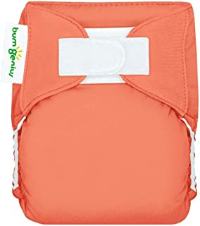 bumGenius All-in-One Newborn Cloth Diaper - Fits Babies 6 to 12 Pounds (Kiss)