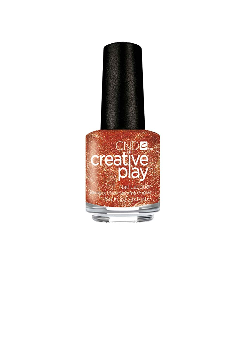 延期する漏斗換気するCND Creative Play Lacquer - Lost in Spice - 0.46oz / 13.6ml
