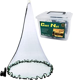 MoiShow Saltwater American Fishing Cast Nets - Premium...