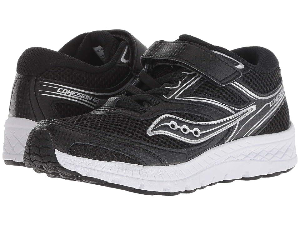 Saucony Kids Cohesion 12 A/C (Little Kid/Big Kid) (Black) Boys Shoes